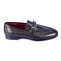 Loafers fur-lined