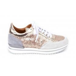 Sneaker paillettes reversible