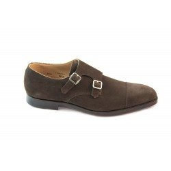 Monk straps in suede