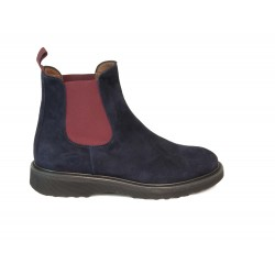 Bottines suede