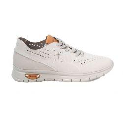 Sneakers nubuck perforé