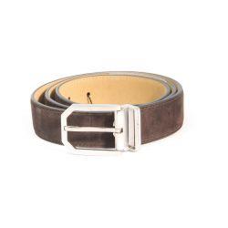 Classic suede belt