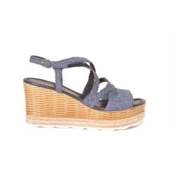 Sandal  woven leather