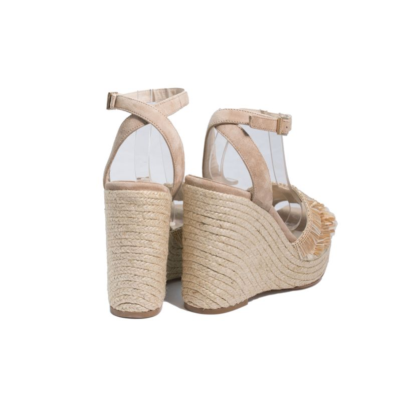 Compensée Is Need All Shoes Espadrille Raphia You Sandale F1JlcK