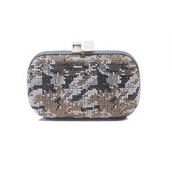 Clutch bag swarovski