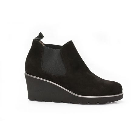 Low boot wedge