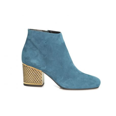 Low boots suede