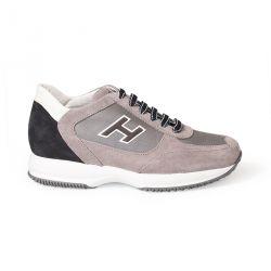 New Interactive Sneaker bimatiére daim et tissue