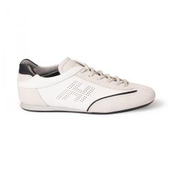 Olympia H white leather