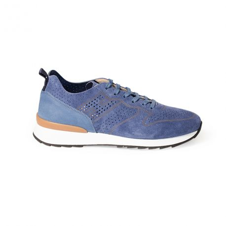 Sneaker daim perforé