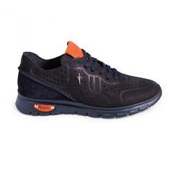 Sneakers daim perforé