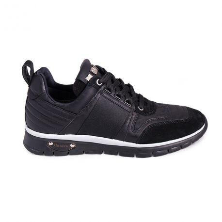 Sneakers leather perforated