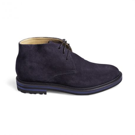suede boot rubber sole